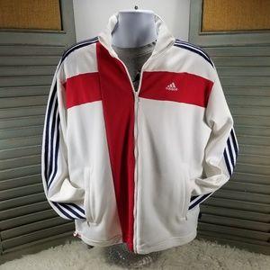 White Adidas 2006 Germany England Track Jacket
